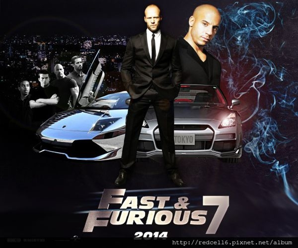 【玩命關頭7】 (The Fast And The Furious 7)首支超猛預告全球震撼曝光!一定要看的強片!