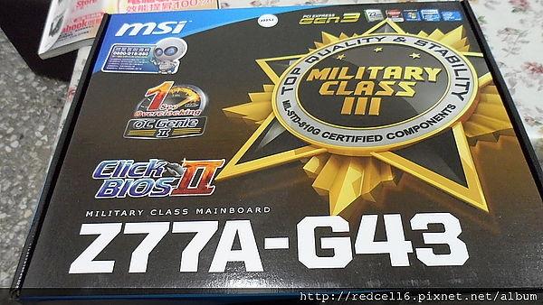 俗又大碗的MSI Z77A-G43主機板開箱心得