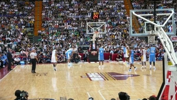 NBA台北戰現場觀戰心得分享