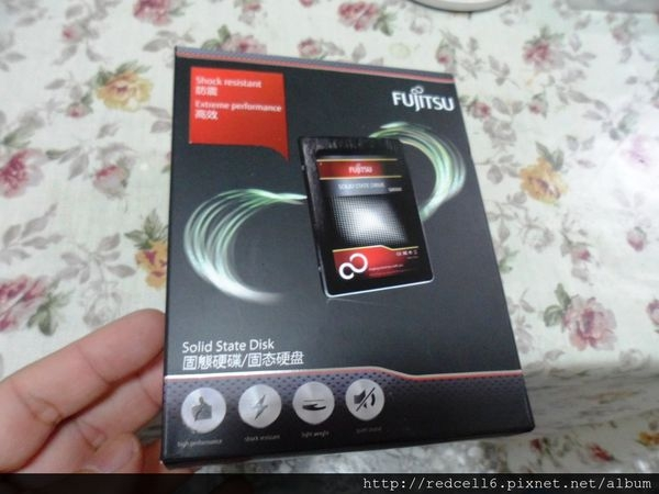 讓電腦脫胎換骨的FUJITSU 富士通 256GB SSD開箱心得
