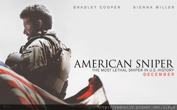 美國狙擊手(AMERICAN SNIPER)電影及小說觀後感