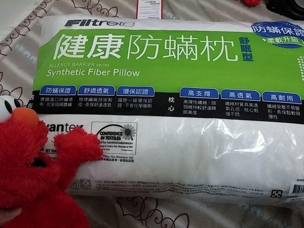 【枕心/枕頭推薦】3M Filtrete淨呼吸防蟎纖維枕心(舒眠型)體驗心得分享