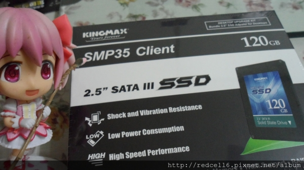 KINGMAX SMP35 Client SSD 120GB 高C/P開箱體驗心得