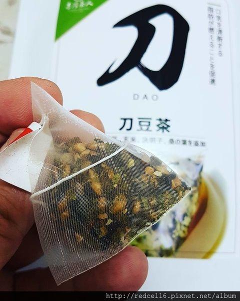 健康去油解膩~台灣茶人-切油斬臭輕纖刀豆茶三角立體茶包品茗心得分享
