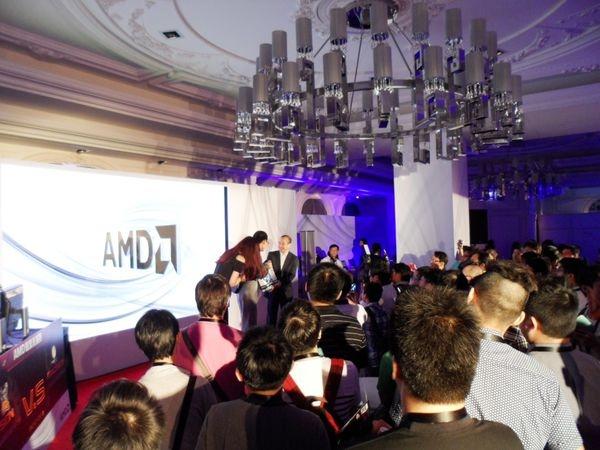 賓至如歸的AMD COMPUTEX無時差科技時尚之夜與會心得分享