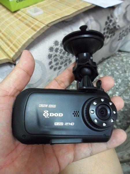 平價進階性能首選DOD CR60W行車記錄器體驗心得
