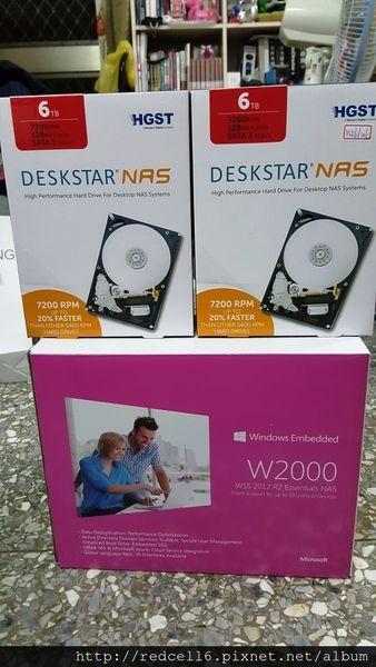 穩定可靠HGST Deskstar 6TB NAS專用硬碟開箱分享