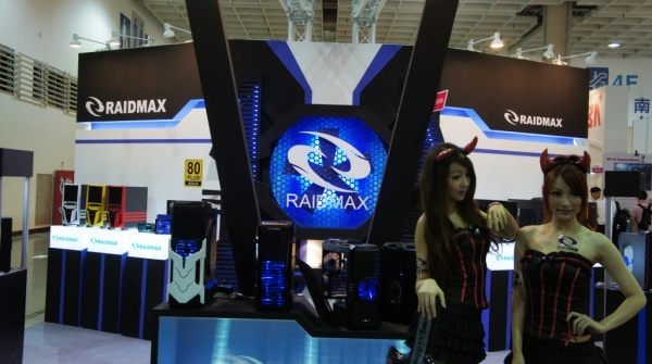 2011年台北國際電腦展(COMPUTEX TAIPEI)參觀RAIDMAX攤位有感!