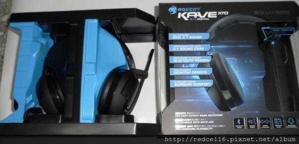 環場震撼力十足的德國冰豹Roccat Kave XTD 5.1 聲道數位多功能電競耳機麥克風開箱心得