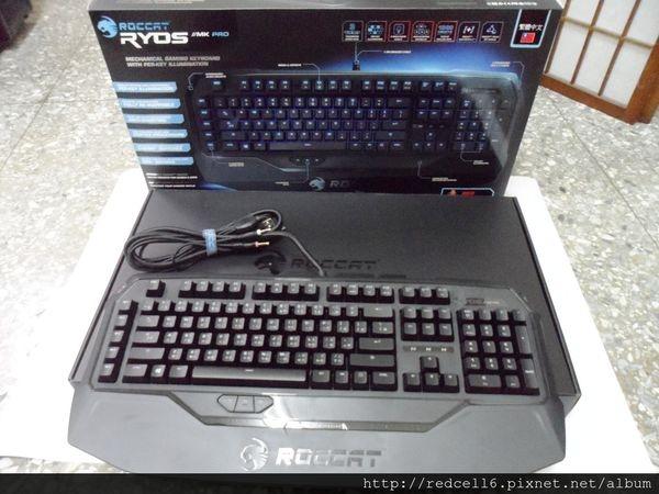 千變萬化德國冰豹ROCCAT RYOS MK PRO機械式鍵盤開箱介紹