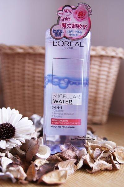 <體驗> LOREAL 巴黎萊雅 三合一卸妝潔顏水 (保濕型)