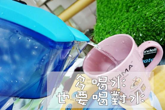 (生活/濾水壺)美國WQA水質協會認證,飲水領導品牌,Brondell H2O+長效濾水壺,喝好水保健康
