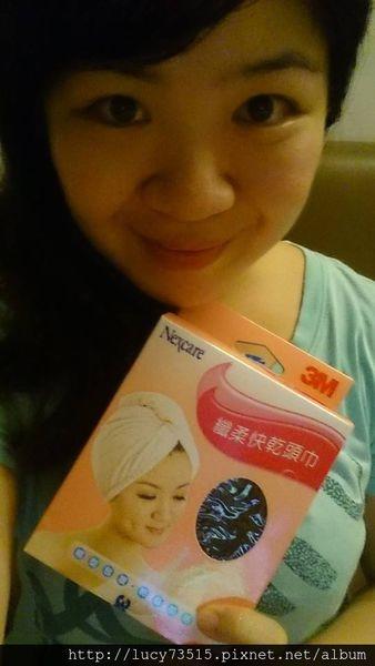 (美髮)頭髮快乾與保濕就靠3M Nexcare纖柔快乾頭巾