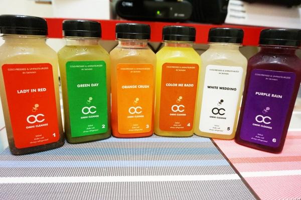 ▌宅配 ▌OC新鮮冷壓蔬果汁~體內環保一下吧!體內乾淨,體態跟著輕盈~輕鬆補充蔬果營養