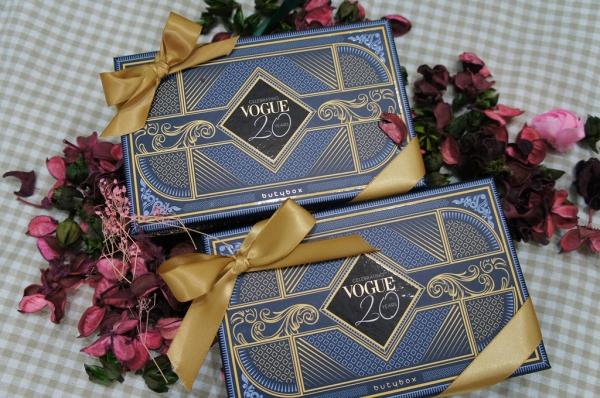 ▌保養 ▌歡慶VOGUE 20周年!butybox打造史上陣容最強美妝體驗盒!9月Vogue 20 周年限定版聯名盒