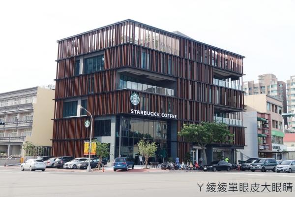 ▌新竹食記 ▌星巴克竹北自強門市  新竹首家、全台第十三間車道型門市