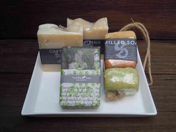 Thai Scent 泰香❤迷迭香羊奶手工保養皂+果香麻繩手工草本皂❤真誠試用~五星級度假酒店使用+姐妹淘禮物的好選擇!幸福其實很簡單( ´ ▽ ` )