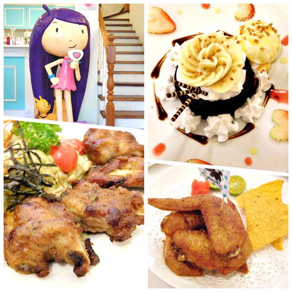 板橋新埔站超熱門下午茶餐廳^^Oyami cafe^^姊妹聚會+情侶約會+生日慶祝都一定要來的好餐廳^^法式鄉村風的裝潢+美麗的蛋糕^^鴨子的少女心大爆發^^