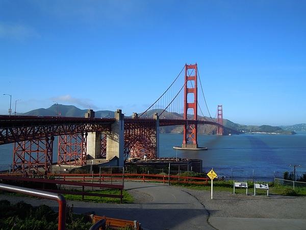 鴨子の美西遊記~舊金山San Francisco金山大橋+小白宮+雙子峰(圖多喔^^)