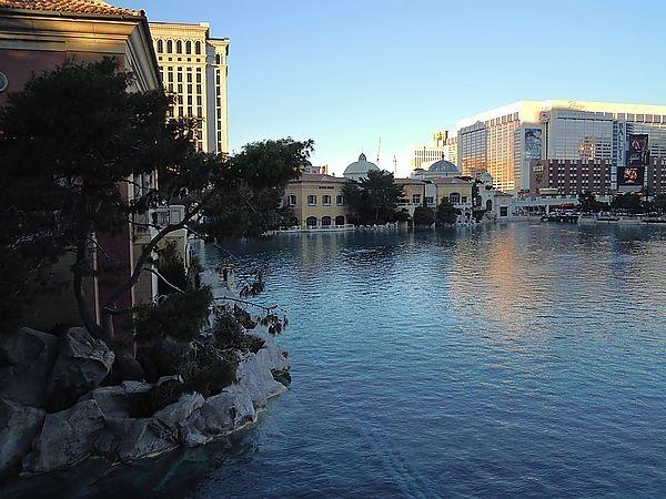 鴨子の美西遊記~Las Vegas拉斯維加斯水舞秀^^圖片超多