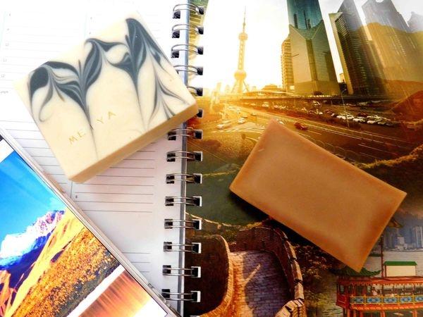 麥皂每里-美雅七白粉養顏皂+美雅草本精萃滋潤皂~洗起來不乾乾+聞起來好舒服的皂皂!!麥皂每里-美雅第一彈!!