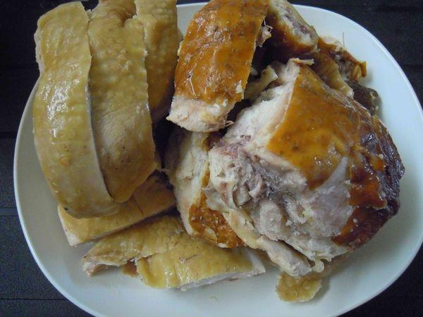 團購美食❤阿弟仔雞肉~招牌甘蔗鹽水配半隻❤一上桌解凍就是一道菜~