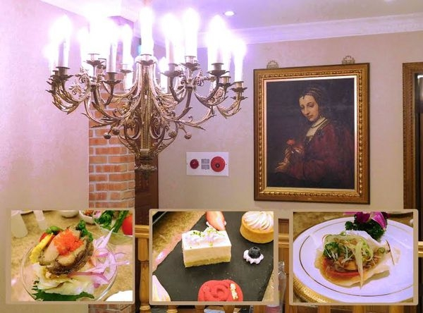 阿金台菜海鮮餐廳^^捷運南京復興站~集歐式裝潢+日式擺盤+法式甜點+台式美味~這家餐廳顛覆你的想像~請客超級有面子^^