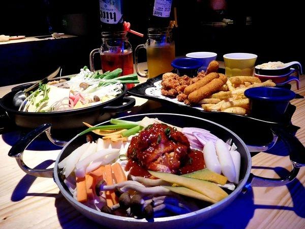 【公館商圈美食】首爾之星台大校園美食~列車系春川炒雞出動!!一人一鍋想吃就吃^^吃韓式料理可以一個人啦!!