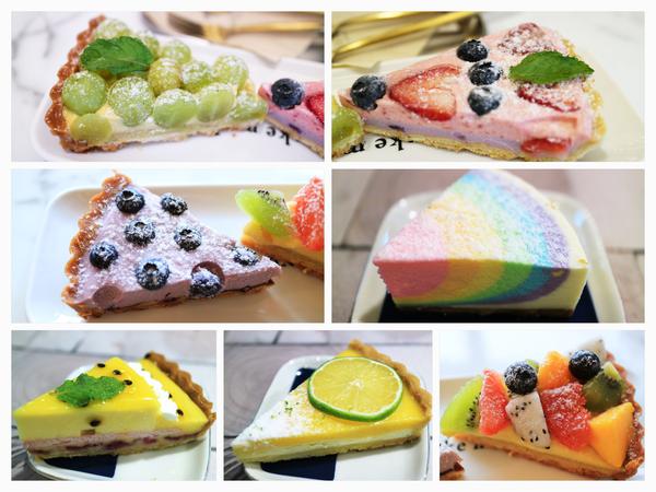 【桃園】Piepai Café 夢幻彩虹生乳酪.少女系下午茶餐廳