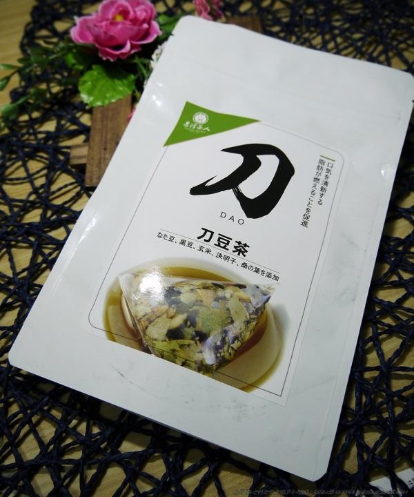 台灣茶人-切油斬臭輕纖刀豆茶3角立體茶包~身體的煩惱一刀兩斷,還你清新好口氣 ~(飲品/茶類/體驗)