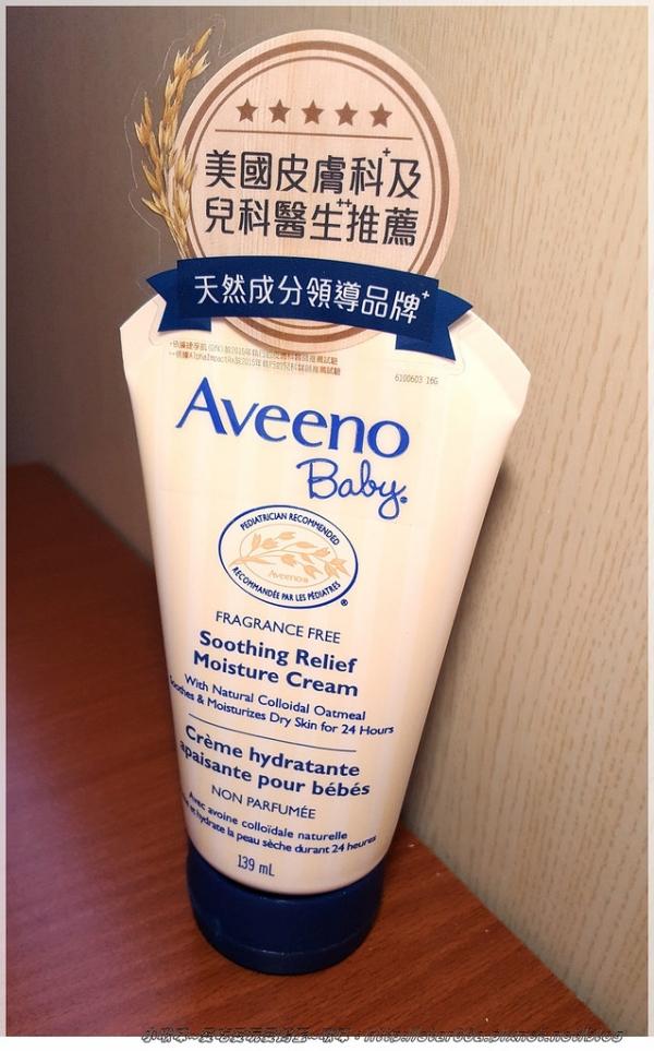 (育兒/用品/體驗)Aveeno-艾惟諾嬰兒舒緩滋養霜~好用不黏膩,冬天再也不怕乾巴巴~