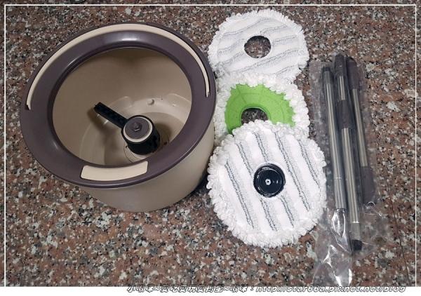 (生活/清潔/合作邀稿)EasyMop 易拖寶 獨立桶洗脫合一手壓式旋轉拖把~輕輕鬆鬆拖好地~