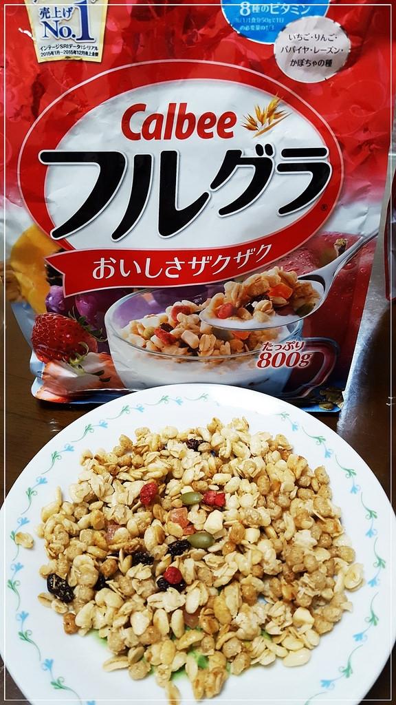 Calbee卡樂比水果麥片/日清水果麥片/家樂氏1/2脂肪水果穀物麥片