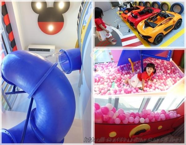 (推薦/台南住宿/親子旅店)Fun假親子旅店~大人小孩Fun假趣,720度超級旋轉溜滑梯城堡和巨型扭蛋機,小孩玩瘋啦~