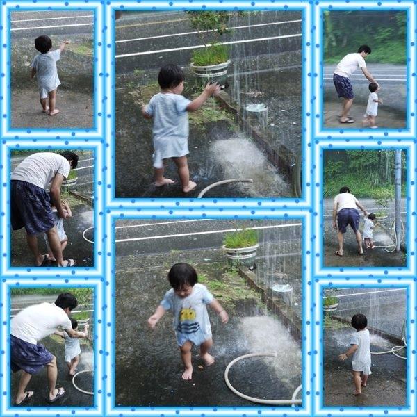 午後淋雨消消暑~第一次淋雨~
