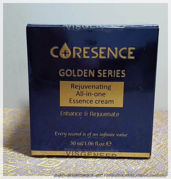 (保養/精華霜/體驗)CoreSence蔻仙詩精萃肌活多效精華霜~感受奢華的護膚體驗~