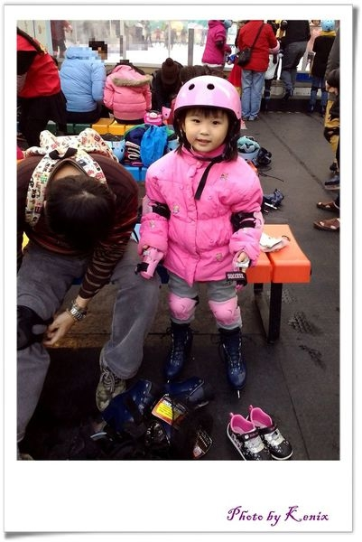 滑冰囉~南港中國信託金融園區-免費戶外滑冰場