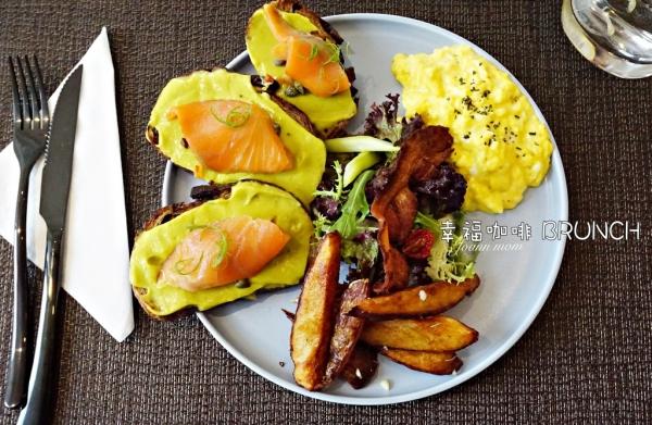 食記▍宜蘭礁溪美食推薦【幸福咖啡hsing fu cafe】人氣早午餐酪梨燻鮭魚,給我滿滿元氣~