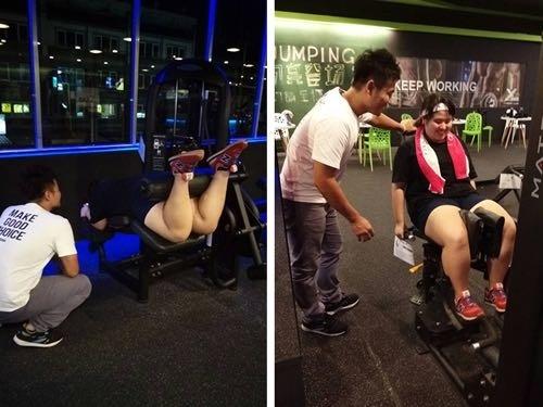 【台南減重】X-Line健身俱樂部|健身。因為想瘦而開始運動,現在我很享受~