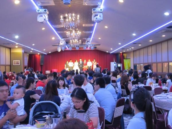 【台南喜宴餐廳】閨蜜結婚了之【金冠台菜海鮮婚宴餐廳】用餐篇