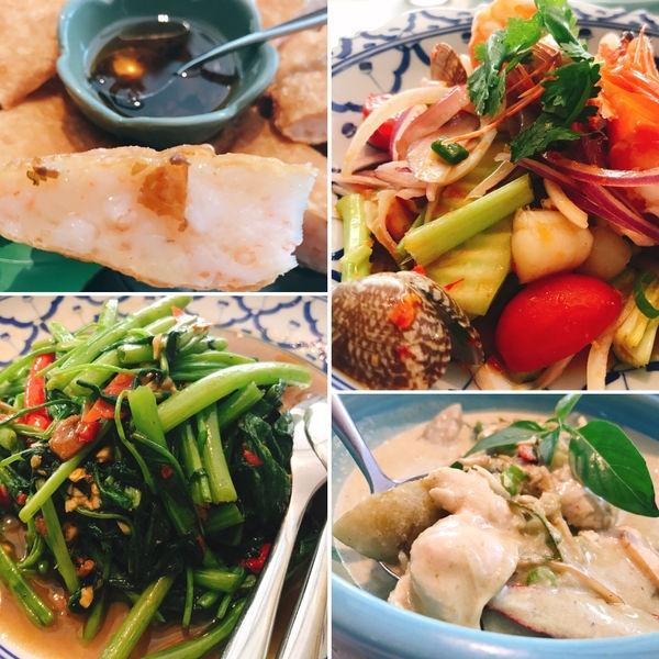 [台北國父紀念館食記] 超好吃的泰式美食推薦X最愛Q彈厚實月亮蝦餅X香米泰國料理光復店
