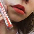 [美妝好物推薦] 好氣色就是要橘色唇---植村秀 shu uemura冰紛糖霜唇頰彩 v.s. 時尚漆光星燦唇釉試色分享