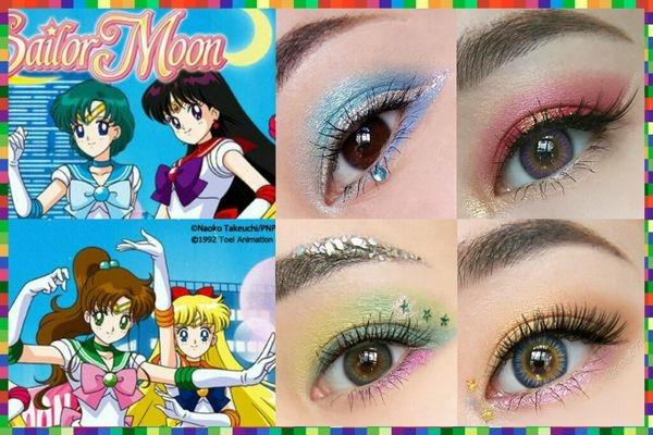 美少女戰士25週年紀念眼妝part 2金星、木星、水星、火星