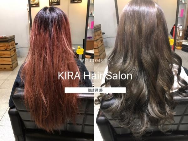 【台南染髮】Kira Hair Salon|分岔毛躁稻草髮、布丁頭..集爛髮於一身之髮質大搶救