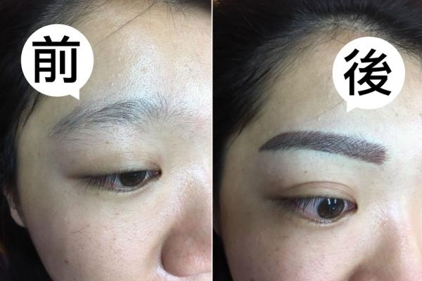 【台南飄眉】立雅紋眉美容中心|有眉毛沒眉型,用【流形眉】輕鬆改造!