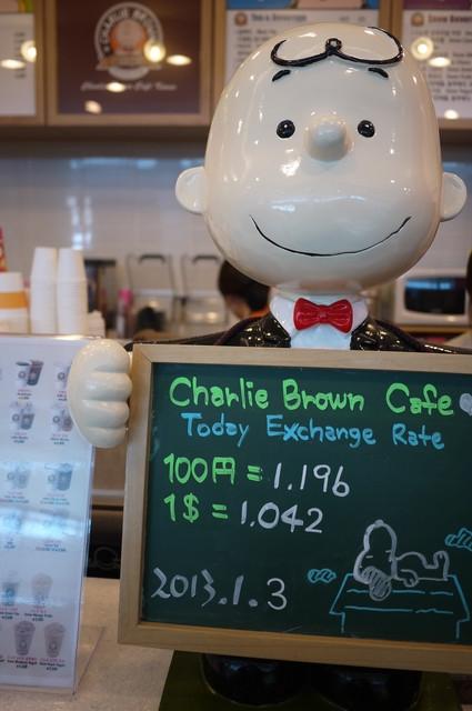 仁川機場 查理布朗咖啡CHARLIE BROWN CAFE