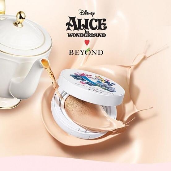 BEYOND x Alice in Wonderland  愛麗絲氣墊粉餅