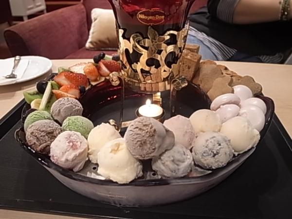 Häagen-Dazs冬季限定   冰淇淋巧克力鍋