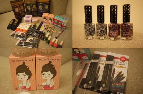 首爾 2012-2013戰利品  美妝 零食 雜物