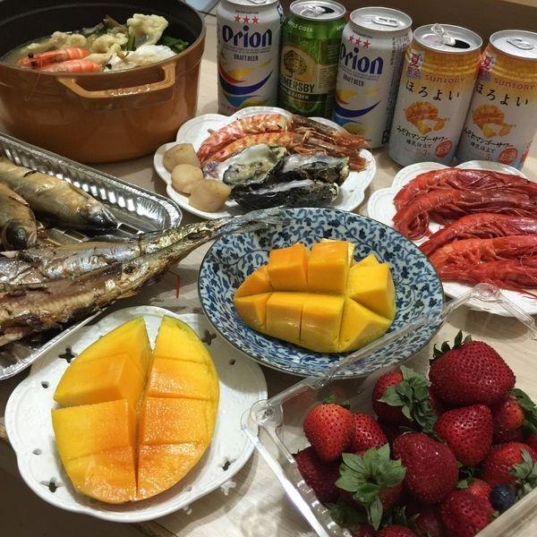 中秋節烤肉 海鮮王 豪華海鮮組